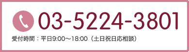 03-5224-3801