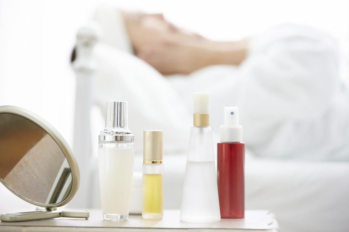 化粧品等の肌への浸透表現について
